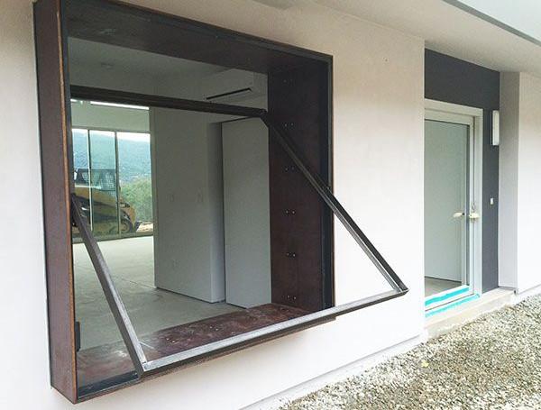 Fenêtres Basculante horizontale