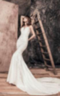 Vestido de novia Sirena Bogota Dahian Velasquez
