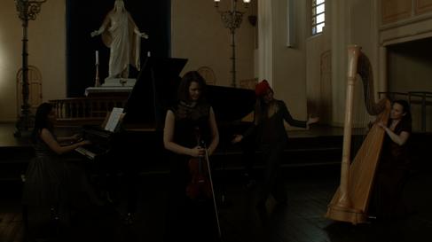 Recording of Melancholia at St Petri church