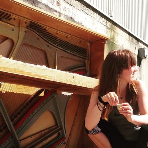 Found a piano outside