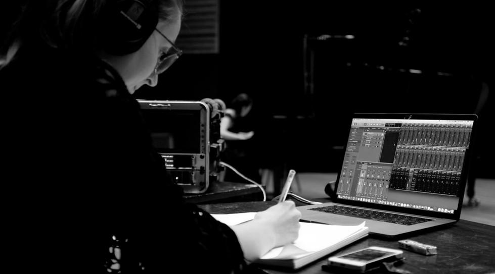 Recording session - Piano