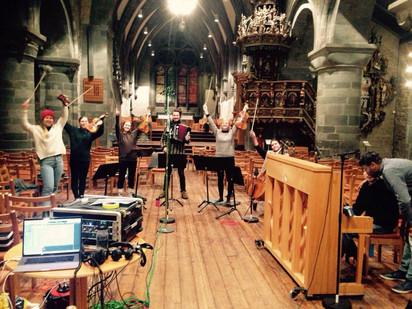 "Recording day, ""Psychosis"" in Stavanger Domkirke"