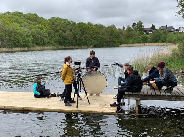 Boom operator: Filmkraft Talent