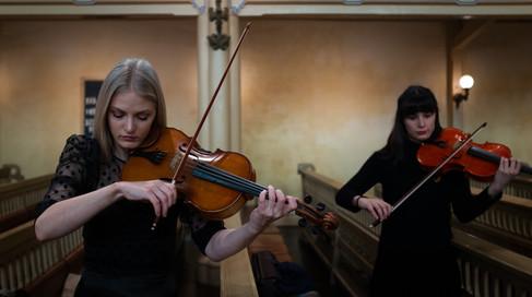 Fantastic musicians rehersing