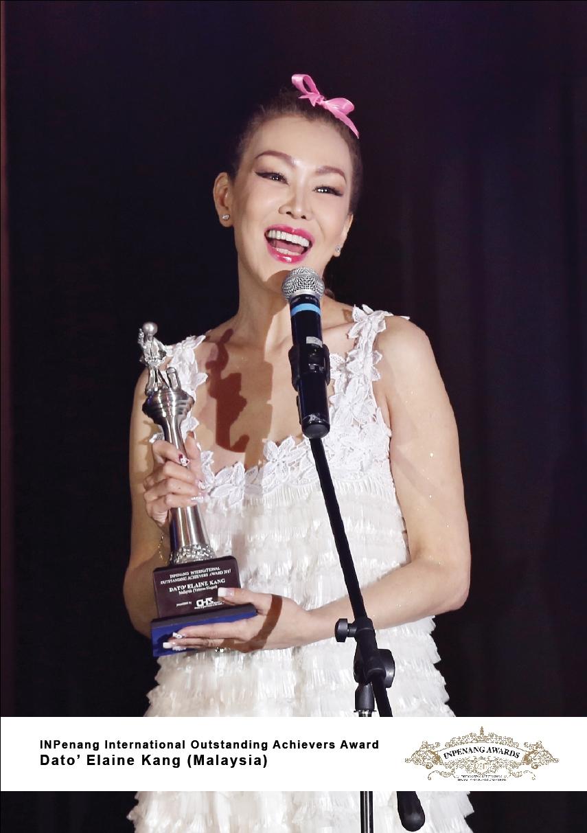 Dato Elaine Kang_Malaysia_INPenang International Outstanding Achievers Award