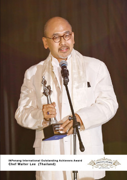 Chef Walter Lee_Thailand_INPenang International Outstanding Achievers Award