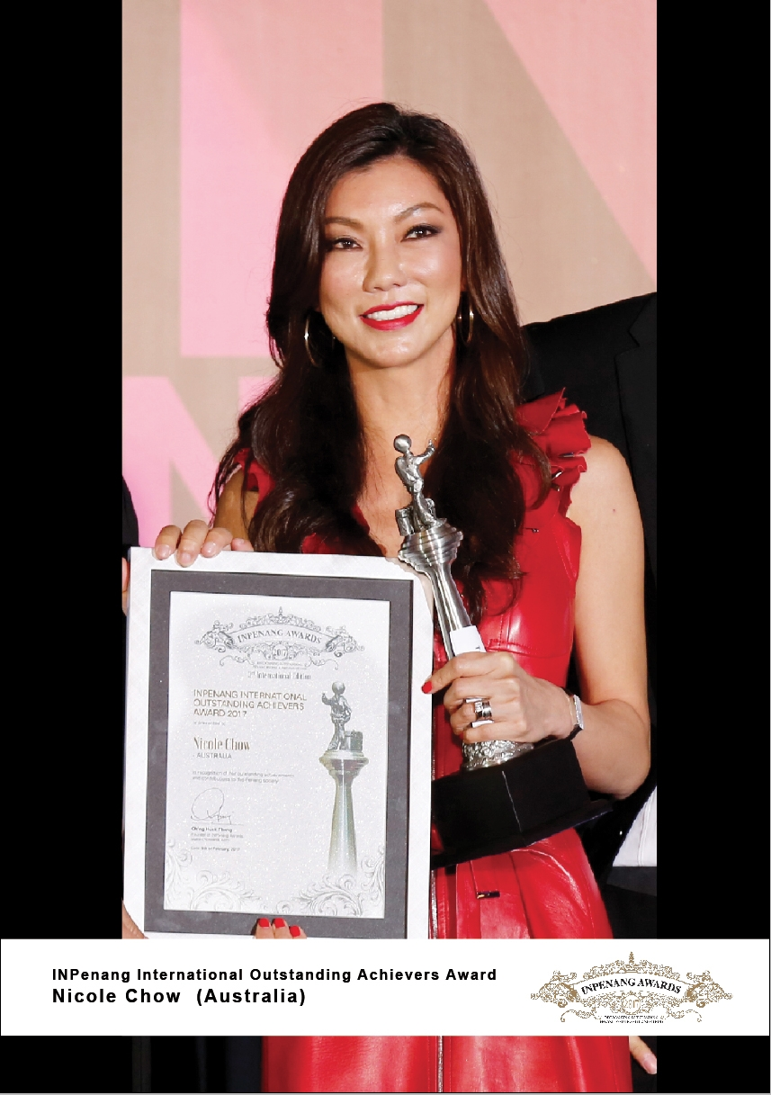 Nicole Chow_Australia_INPenang International Outstanding Achievers Award