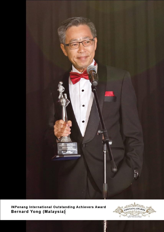 Bernard Yong_Malaysia_INPenang International Outstanding Achievers Award