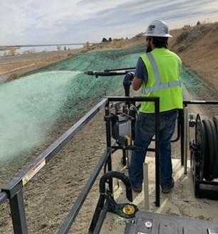 Hydro Mulching and Seeding