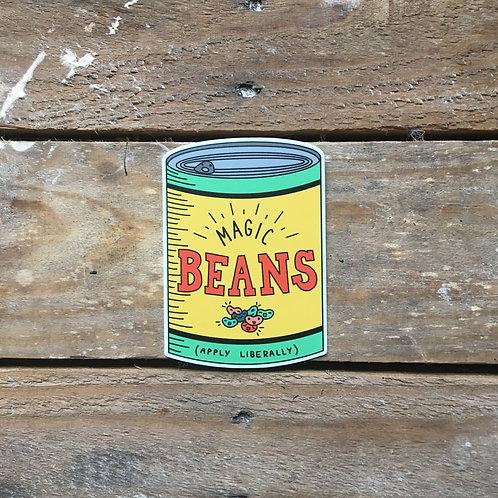 magic beans sticker
