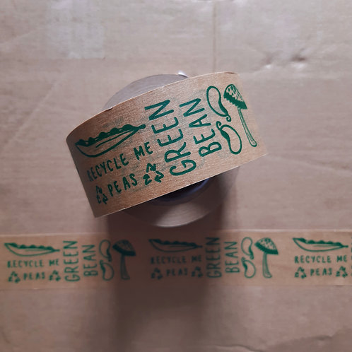 green bean recyclable paper tape