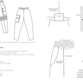 technical waterproof trousers