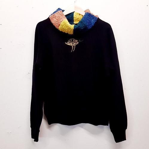 rainbow alice cotton sweater M