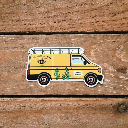 herby the transporter sticker