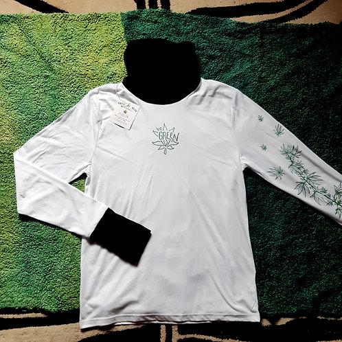 be green hemp/cotton baselayer XL