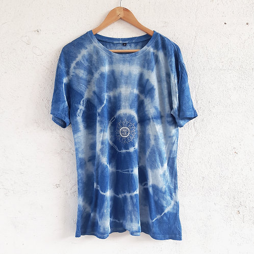 spinning out of control hemp t shirt M