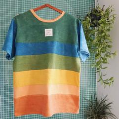 striped rainbow lovin' house of bean