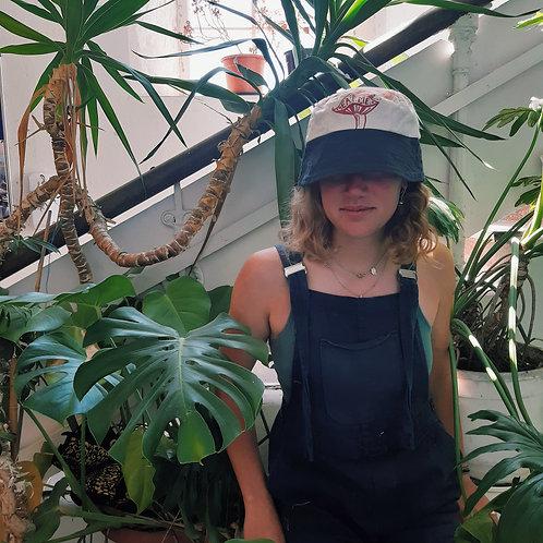 eat me hemp/canvas bucket hat