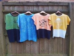 hemp reversible tees