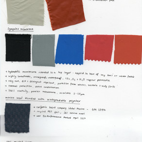 SUSTAINABLE FABRIC SAMPLES