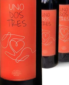 K3 Rotweine Un-Dos-Tres - Hausmarke