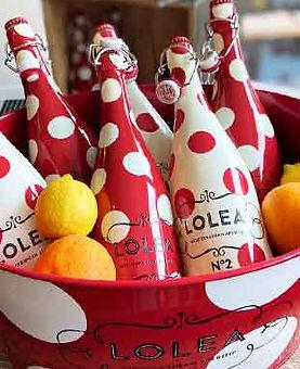 Sangria Lolea in der Flasche