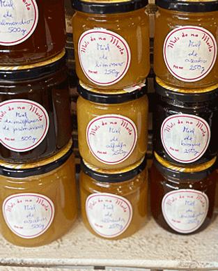 Martas Honig im Glas aus Mallorca