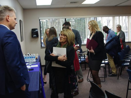 Regional Professionals Meet at GenPsych Hamilton for Open House and Networking