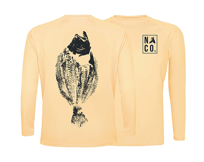 Peach Fluke SPF 50-Long Sleeve