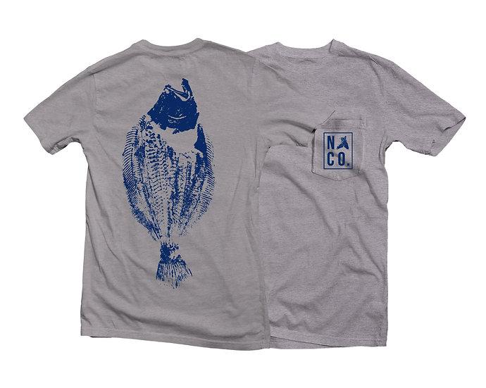 Gray Fluke T-Shirt