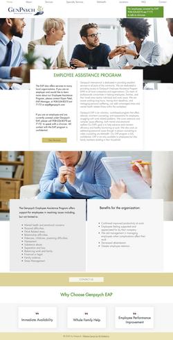 Website Design For Employee Assistance Program Provider