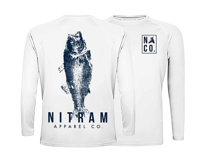 White Bass SPF 50-Long Sleeve