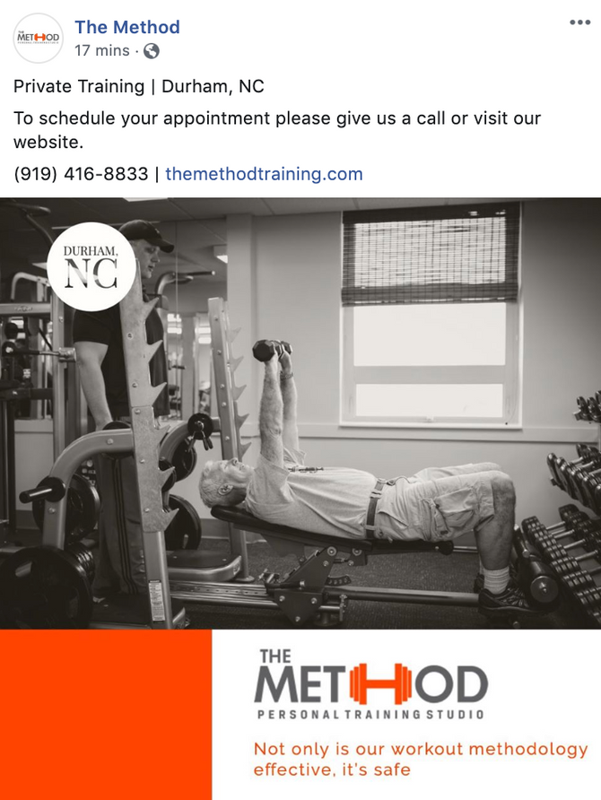 New Social Media Campaign for The Method Gym