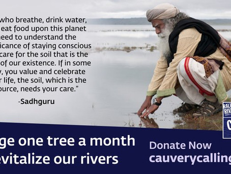 Rally for Rivers and Cauvery Calling