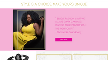Website design for a stylist in New Jersey