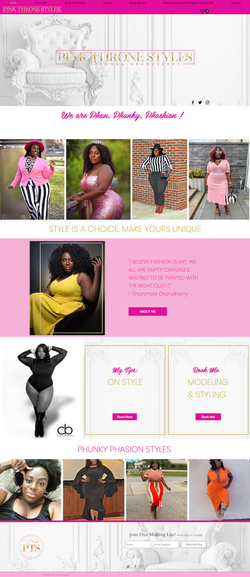 Website Design For A Stylist