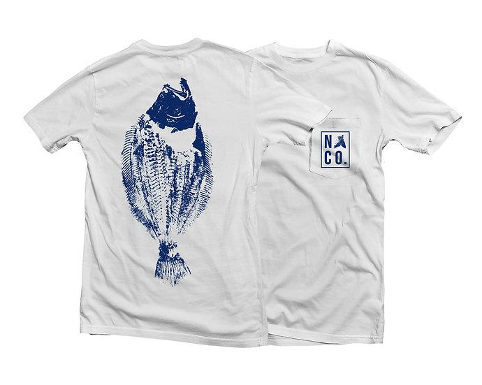 White Fluke T-Shirt