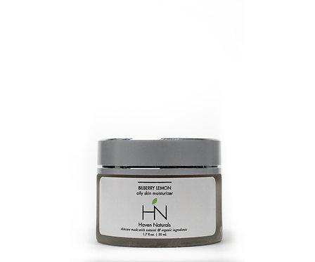 Blueberry Lemon Cream- Oily Skin Moisturizer