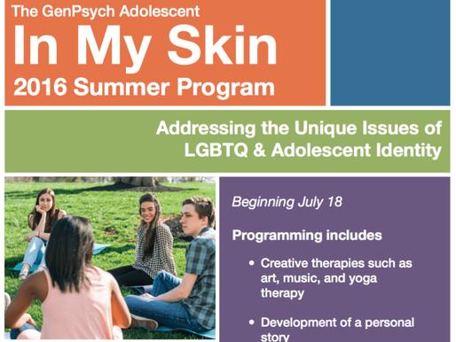 Summer LGBT Teen Program NJ