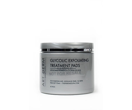 GLYCOLIC EXFOLIATING TREATMENT PADS
