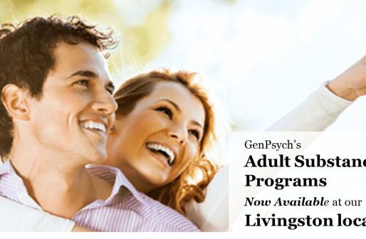 New Substance Abuse Program at GenPsych Livingston