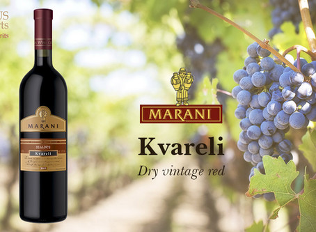 Georgian wine KVARELI by MARANI