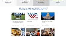 Website design for Utility Contractors Association in Pennsylvania