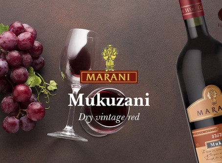 Georgian wine MUKUZANI by MARANI
