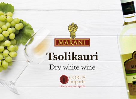 Georgian wine TSOLIKAURI by MARANI