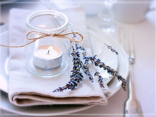An Enchanting Evening Under the Stars - A Lavender Inspired Dinner