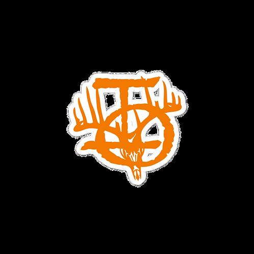 IOTV Logo Sticker - Hunter Orange