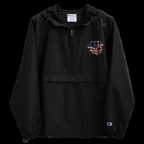 IOTV American Flag Rain Jacket