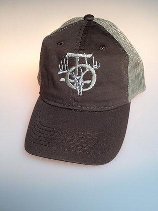 BROWN/TAN MESH HAT