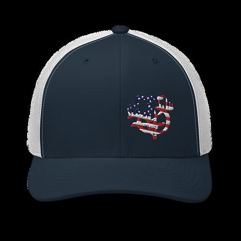 IOTV American Flag Trucker Hat